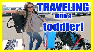 FLYING WITH A TODDLER!