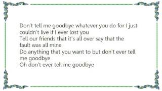 Watch Buck Owens Dont Ever Tell Me Goodbye video