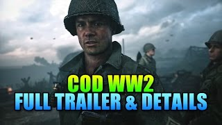 COD WW2 Trailer & Game Details!