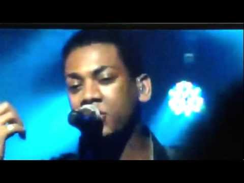 Joshua Ledet New Song Sound of a Heart Breaking or Broken Man Live from iheartradio 8/29/12