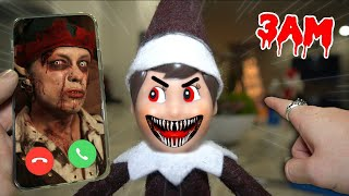 (REAL) CALLING ELF ON THE SHELF ON FACETIME AT 3 AM! (IT COMES ALIVE!)