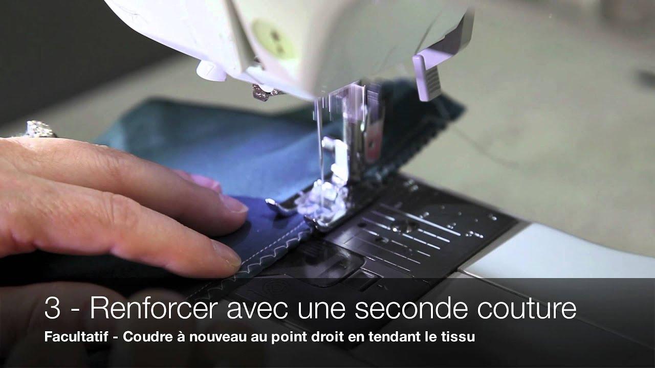 Technique de couture jalie coudre des tissus extensibles - Machine a coudre stretch ...