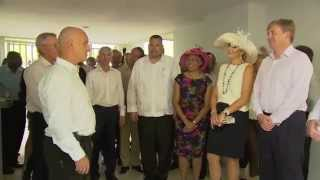 Royal Opening Carmabi Research Centre Curaçao