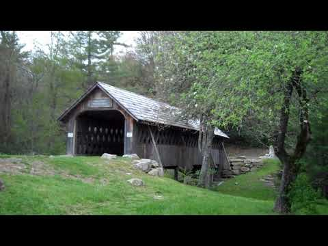 Will Henry Stevens Covered Bridge in Highlands, NC (Bagley Bridge of Warner NH)