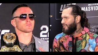 Colby Covington responds to Jorge Masvidal Tweets and says he's Next (UFC 245)