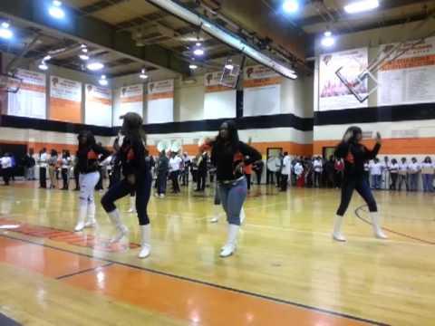 Orange high school marching band