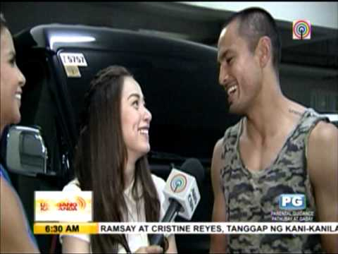 Derek says family accepts romance with Christine