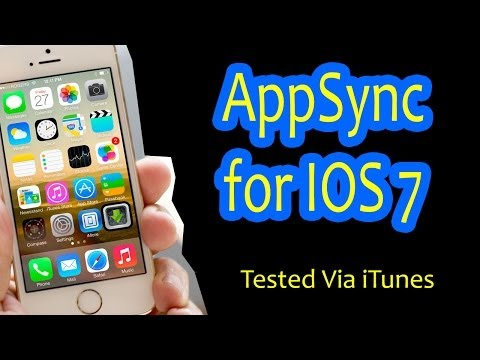AppSync para iOS 7 Funciona 100% iPhone iPad iPod LEER DESCRIPCIÓN