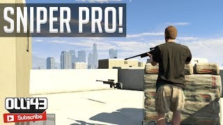 GTA 5 Sniper Towers! (GTA 5 Funny Moments)