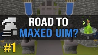 OSRS Ultimate Ironman (Road to Max?) #1 - Let's See How This Goes
