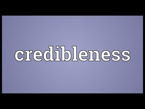 Header of credibleness