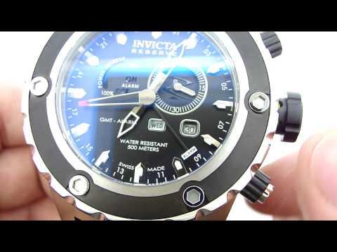 Invicta Reserve Subaqua Alarm Sport Multi-Function