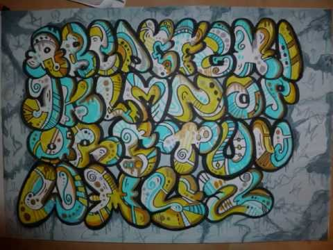 How to Draw Graffiti Letters  Write Mom in Bubble Letters