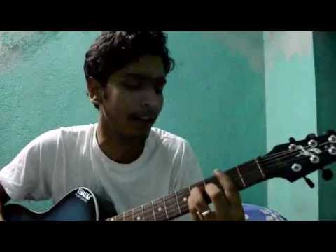 Chand chupa badal me ( hum dil de chuke sanam ) acoustic guitar...