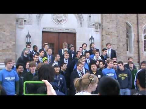 Notre Dame Glee Club: Here Come The Irish video