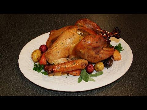 Cider-Brined Maple-Glazed Turkey