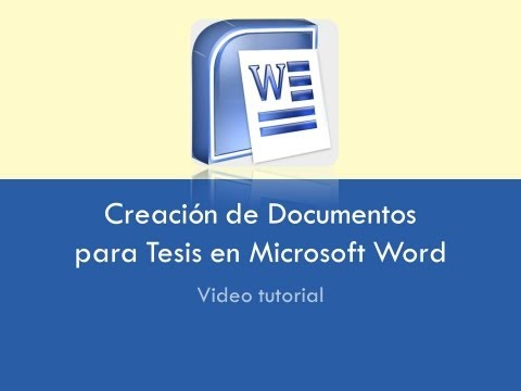 Formatos para documentos en Microsoft Word