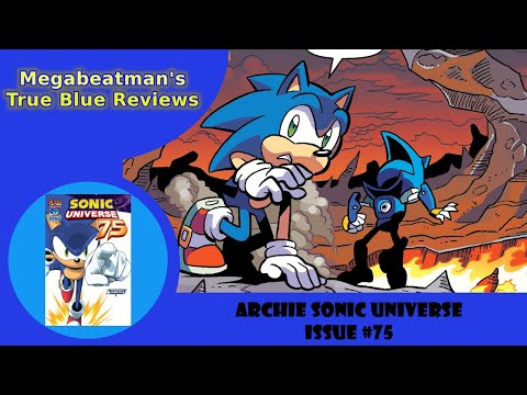 Sonic Universe #75 - A Let's Review by Megabeatman