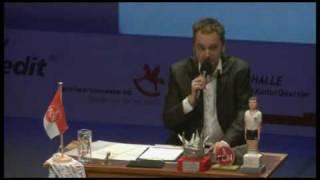 Gala 2009: Fußballspruch 1. Halbfinale / Arnd Zeigler