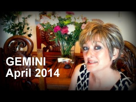 Gemini April 2014 Astrology Forecast - Karen Lustrup video