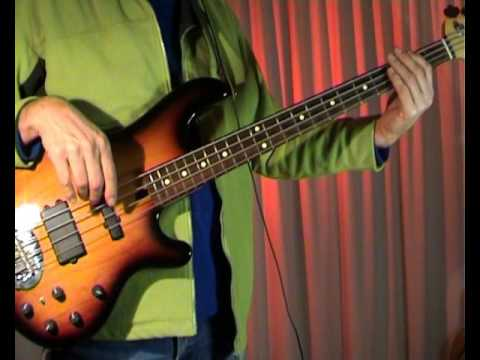 Roxy Music - More Than This - Bass Cover