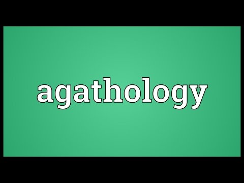 Header of Agathology