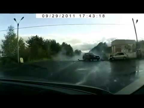 Подборка видео жестких аварий