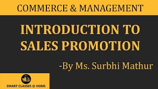 Sales Promotion Lecture, MBA  by Ms. Surbhi Mathur.