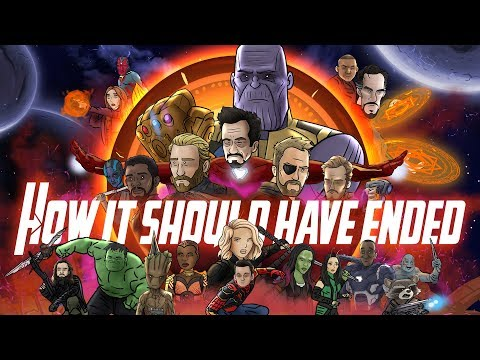 How Avengers Infinity War Should Have Ended - Animated Parody en streaming