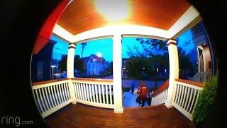 Window Peeper Caught on Ring Doorbell Video