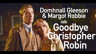 Domhnall Gleeson & Margot Robbie interviewed by Simon Mayo