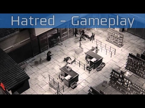 Hatred - Gameplay Reveal [HD 1080P]