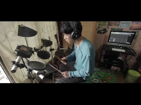 Killing me Inside - Hilang (Drum Cover By Mizan)