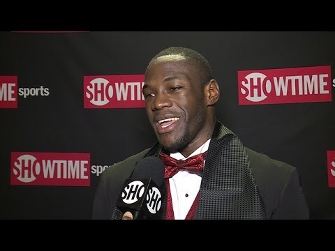 Deontay Wilder - Post-Fight Interview - SHOWTIME Boxing