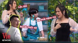 Hãi hùng với màn hướng dẫn nấu ăn gây ám ảnh của Lâm Vỹ Dạ | Khi Chàng Vào Bếp