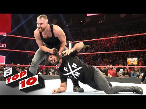 Top 10 Raw moments: WWE Top 10, December 3, 2018 thumbnail