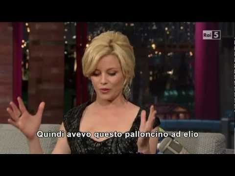 Elizabeth Banks al David Letterman