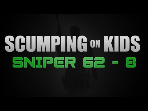 OpTic Scump  - 62-8 Sniper Gameplay
