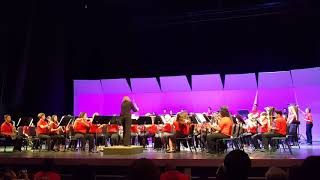 Frank Wright Middle School Concert Band(2017-2018)-The Oregon Trail