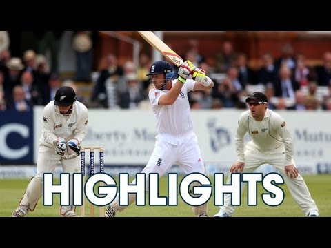 Highlights England v New Zealand - Day 1 Afternoon Session at Lord's