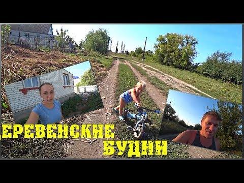 Деревенские будни / Сено / Привезли трактор / За Егором в сад / Заготовки на зиму