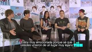 Qriosos - Majo entrevista a 5 Seconds of Summer (Parte 1)