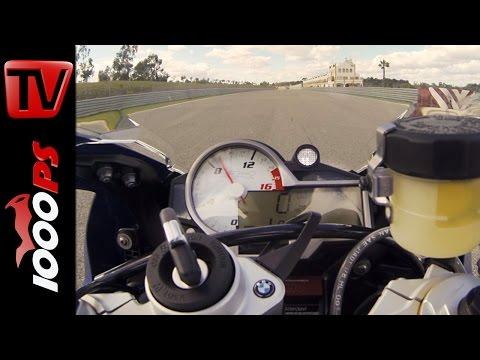 BMW S 1000 RR 2015   0-260km/h   Launch Control Start