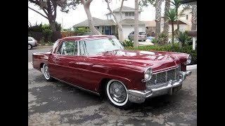 Driving 1956 Continental Mark II to 50's music