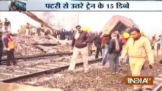 Train Accident: 2 Dead, 24 Injured as 14 Coaches of Sealdah-Ajmer Express Derail near Kanpur