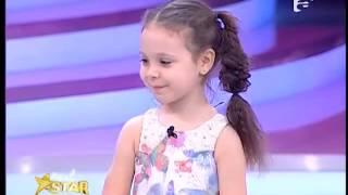 Prezentare: Giulia Haidău are 3 ani și vrea să devină prințesă și artistă