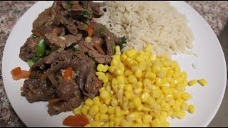 CHRISTMAS MEAL IDEA HOW TO MAKE A SPICY PEPPER STEAK W A MICROWAVE