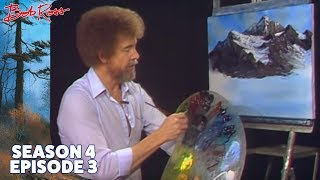 Bob Ross - Majestic Mountains (Season 4 Episode 3)