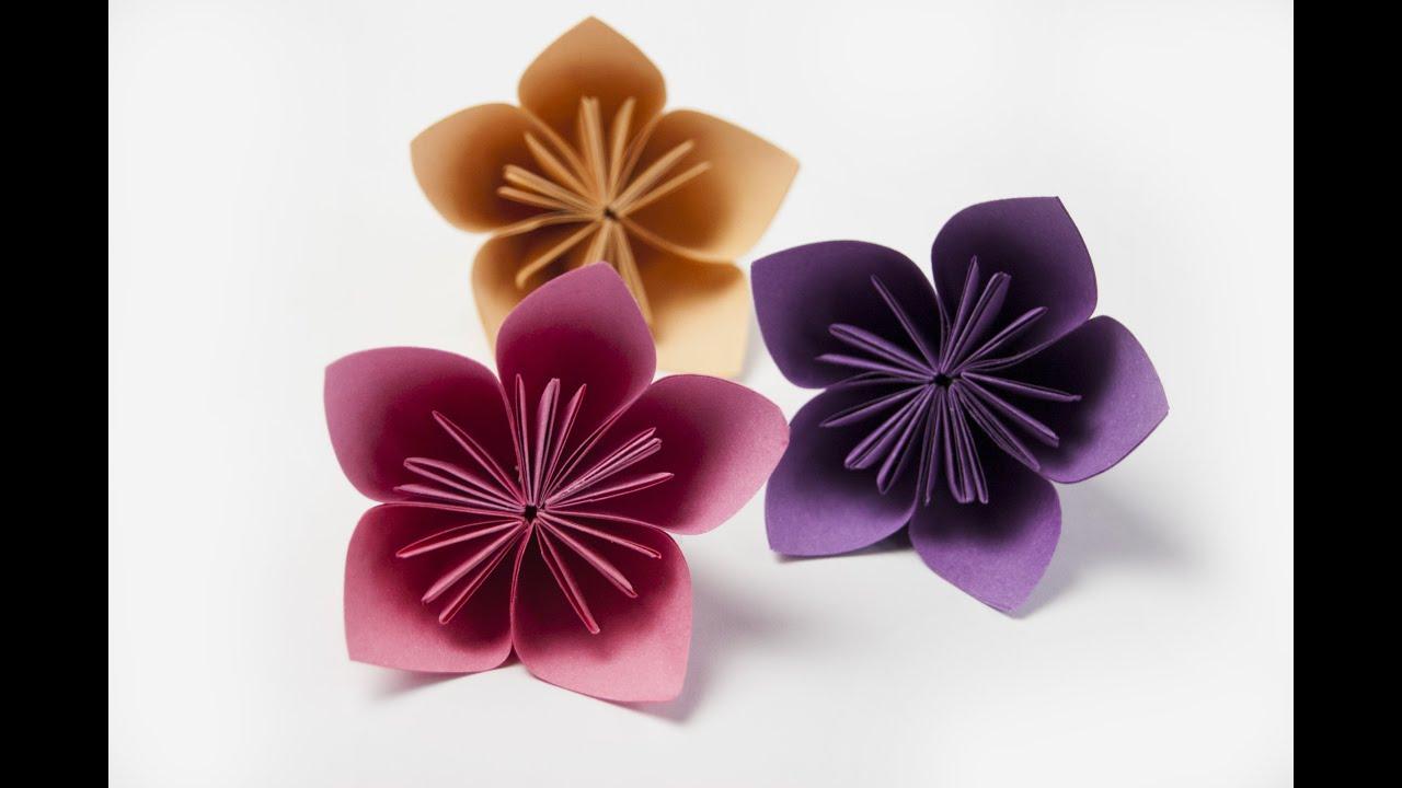 Как цветы из бумаги