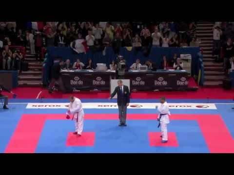 (4/4) Final Male Team Kumite. France vs Turkey. 21st WKF World Karate Championships 2012